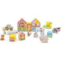Bouwblokken Boerderij New Classic Toys