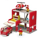 Viga Toys Brandweerkazerne Viga Toys 35x25x28 cm