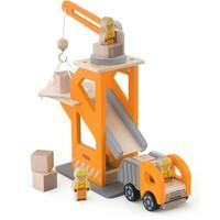 Kraanwagen set Viga Toys 26x21x11 cm