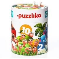 Puzzel Puzzlika 10 in 1 Tel Je Vrienden 2 stukjes