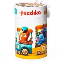 Puzzel Puzzlika Dierentrein 20 stukjes