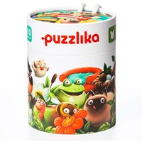 Puzzel Puzzlika 10 in 1 Waar Wonen Dieren 2 stukje