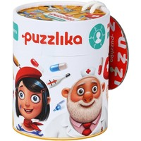 Puzzel Puzzlika 3 in 1 Beroepen 7 stukjes