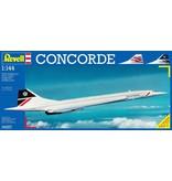 Revell Aircraft Concorde British Airways Revell: schaal 1:144