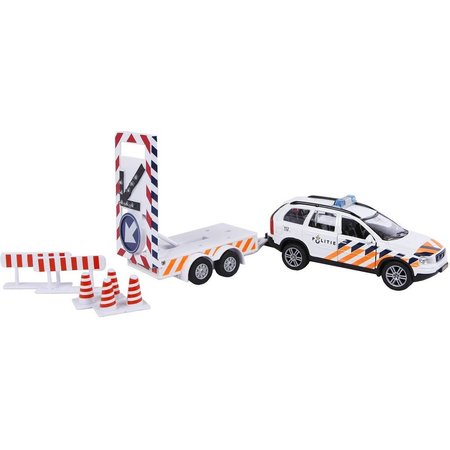 Kids Globe Auto pb Kids Globe Volvo XC90 politieauto