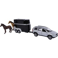 Auto pb Kids Globe Volvo XC90 met trailer