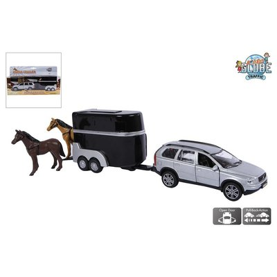 Kids Globe Auto pb Kids Globe Volvo XC90 met trailer