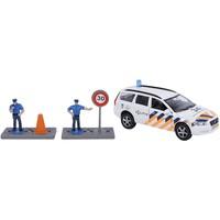 Auto pb Kids Globe Volvo V70 politie + accessoires
