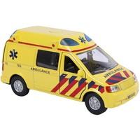 Auto pb Kids Globe ambulance + licht/geluid