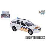 Kids Globe Auto pb Kids Globe Volvo V70 politie + licht/geluid