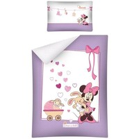 Dekbed Minnie Mouse ledikant: 100x135/40x60 cm