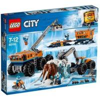 Mobiele onderzoeksbasis op de Noordpool Lego