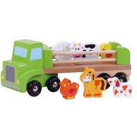 Vrachtwagen met boerderijdieren Simply for Kids