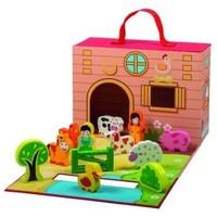 Speelkoffer Simply for Kids boerderij met dieren