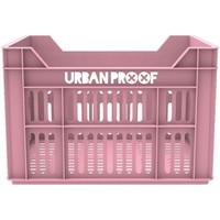 Fietskrat Urban Proof 40x30x25 cm/30 liter roze