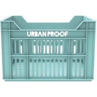 Fietskrat Urban Proof 40x30x25 cm/30 liter mint
