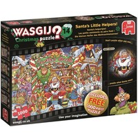Puzzel Wasgij Christmas 14: 2x1000 stukjes