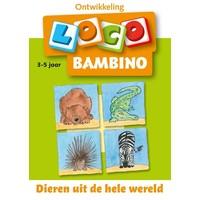 Dieren uit de hele wereld Loco Bambino