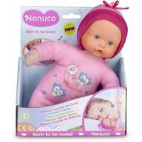Pop Nenuco soft met slaapliedje roze 25 cm