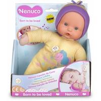 Pop Nenuco soft met slaapliedje geel 25 cm