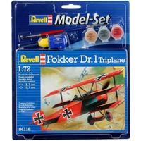 Model Set Fokker DR. 1 Triplane Revell: schaal 1:72