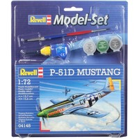Model Set P-51D Mustang Revell: schaal 1:72