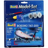 Model Set Boeing 747-200 Revell: schaal 1:390