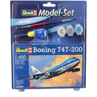 Model Set Boeing 747-200 Revell: schaal 1:450