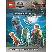 Boek Lego Jurassic World - dino dreiging