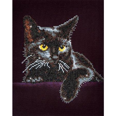 Diamond Dotz Midnight Cat Diamond Dotz: 28x36 cm