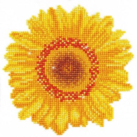 Diamond Dotz Happy Day Sunflower Diamond Dotz: 20x20 cm