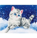 Diamond Dotz Kitten in the Snow Diamond Dotz: 35x27 cm