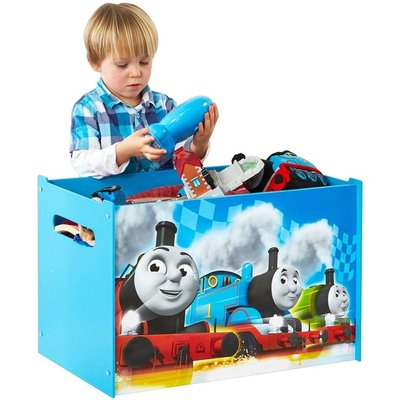 Thomas de Trein Speelgoedkist hout Thomas de Trein 60x40x40 cm