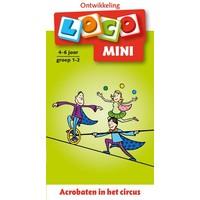 Acrobaten in het circus Loco Mini