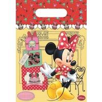 Feestzakjes Minnie Mouse: 6 stuks