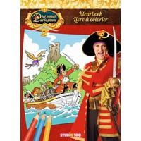 Kleurboek Piet Piraat boot