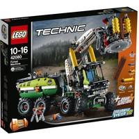 Bosbouwmachine Lego