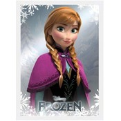 Poster luxe Frozen 50x70 cm houten lijst Anna