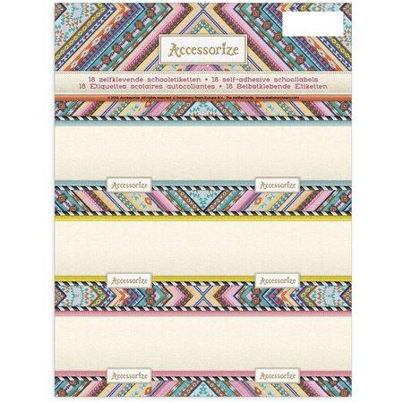 Accessorize Etiketten Accessorize Fashion 18 stuks