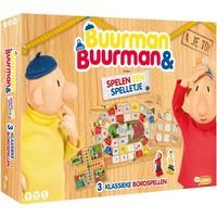 Spel Buurman en Buurman 3 in 1 o.a. ganzenbord
