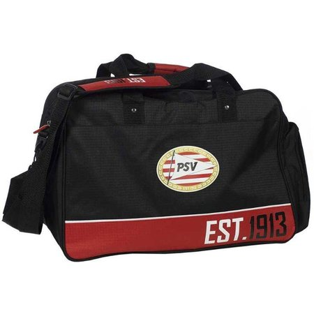 PSV Eindhoven Sporttas psv zwart/rood 45x30x28 cm