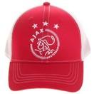 AJAX Amsterdam Cap ajax senior wit/rood/wit logo