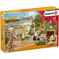 Schleich Wild Life adventskalender 97702 - Speelfigurenset - Wild Life - 29,5 x 49 x 40 cm