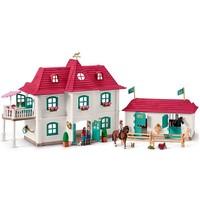 Groot huis met Paardenbox Schleich