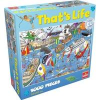 Puzzel That´s life Sydney-Hobart Race: 1000 stukjes