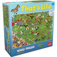 Puzzel That´s life Life Melbourne Cup: 1000 stukjes