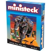 Afrikaanse Olifant Ministeck XXL 4700-delig