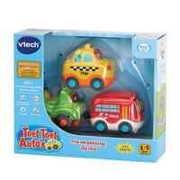 Toet toet auto Vtech: city 3-pack 12+ mnd