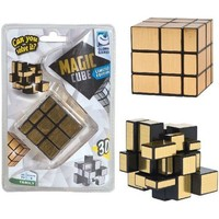 Magic puzzel cube goud