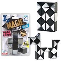 Magic puzzel zilver 24 stukjes